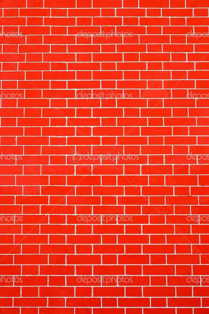 Mur De Briques De Texture Couleur Rouge Vif Photographie Malven