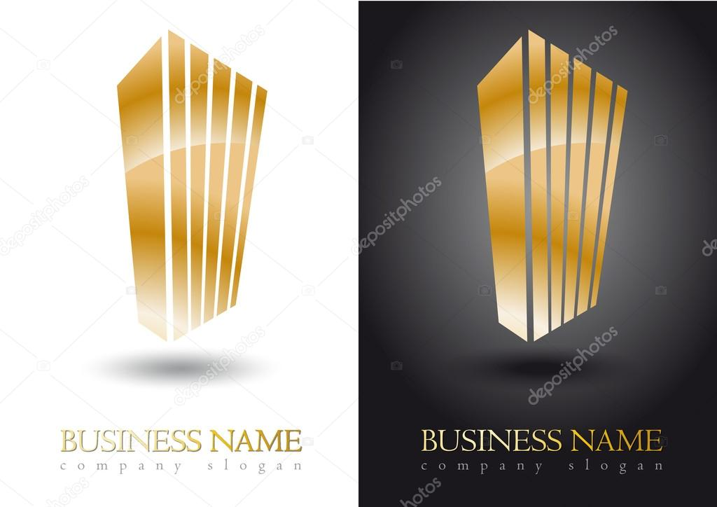 Gold business logo