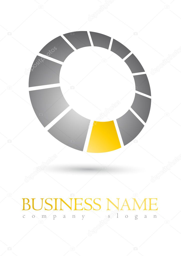 Modern business logo