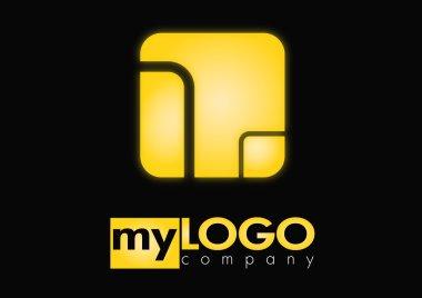 Business logo rectangle desing