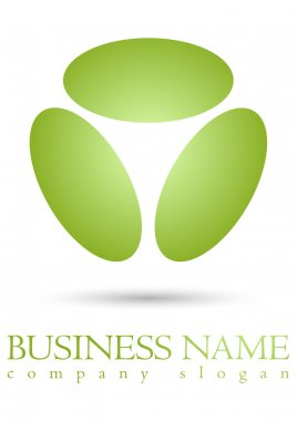 Business logo colour sphere design