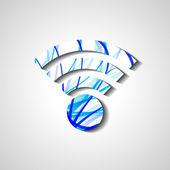 symbol bezdrátové sítě