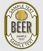 Fotografie pivo štítek