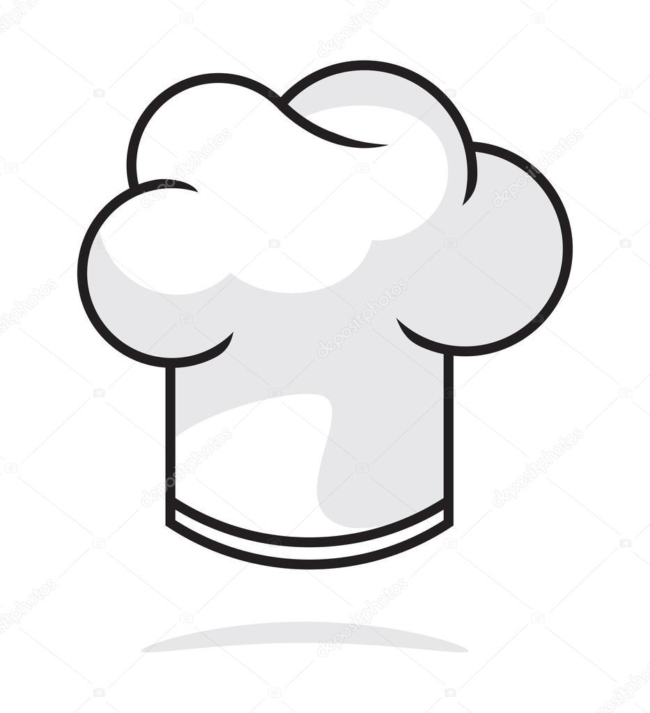 Sombrero de Chef — Archivo Imágenes Vectoriales ...
