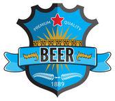 návrh štítku pivo