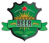 Fotografie návrh štítku pivo