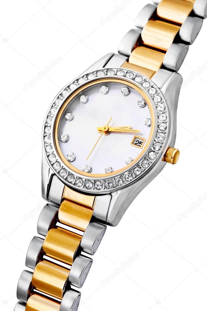Срібні і золоті годинники — Стокове фото — цифри © Tomatito  38522115 cac1963965837