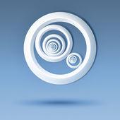 bílé kruhy
