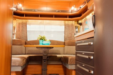 Inside of Modern Camper