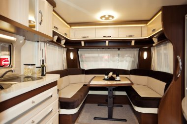 Inside of Modern Camper