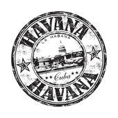 Fotografie Havana grunge razítko