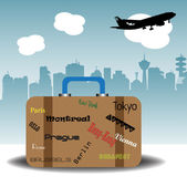 Fényképek Utazó bőrönd