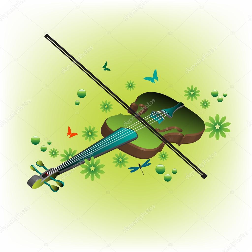 Summer violin
