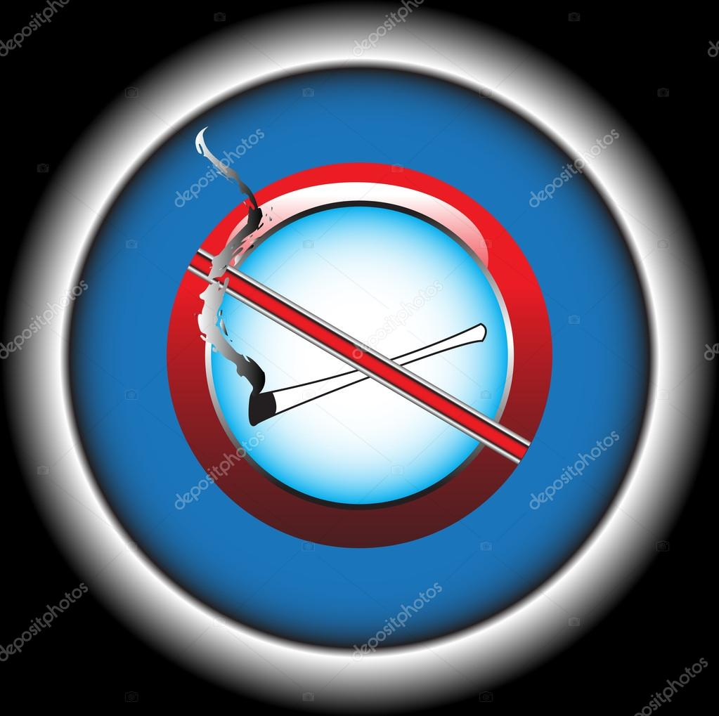Marvelous Raucherzone Ideas Of Abstrakte Farbenfrohe Tration Mit Stop-smoking-symbol — Vektor