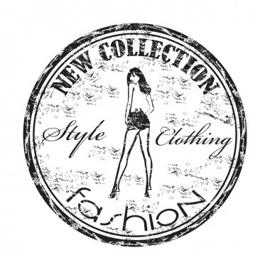 New collection grunge rubber stamp