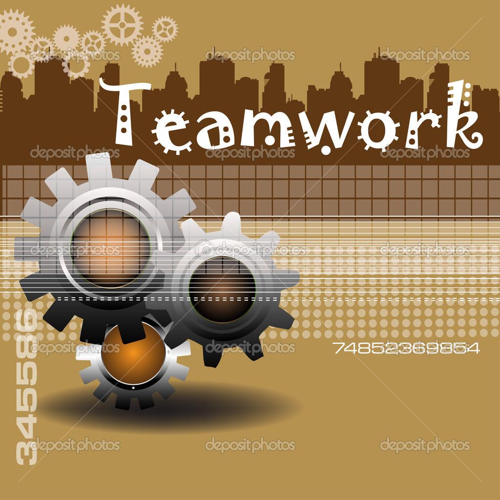 teamwork theme stock vector oxlock 46325203