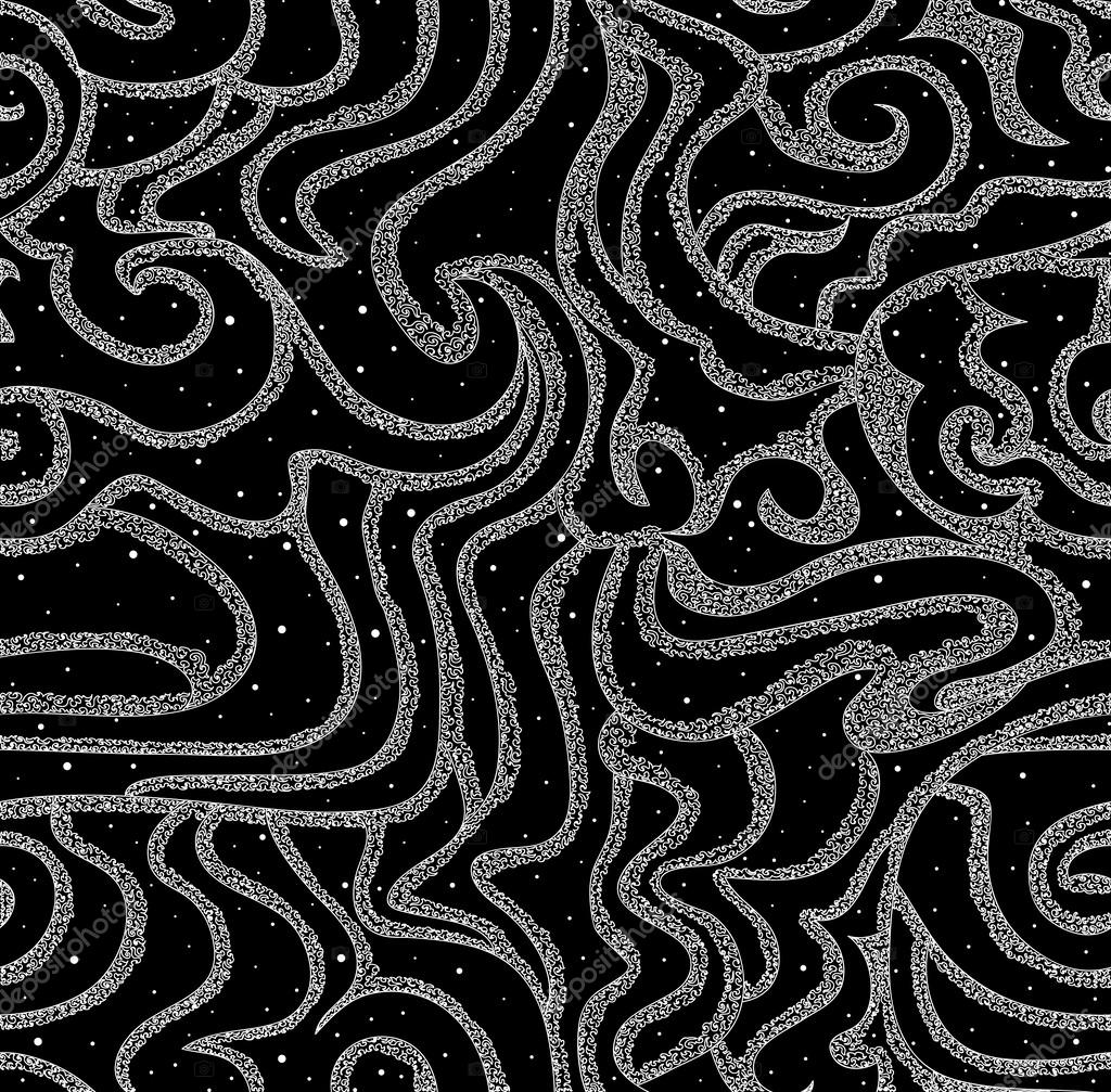 Beautiful snowy seamless texture with figured lines You can use it