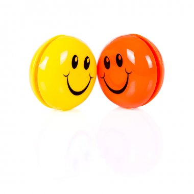 Couple of colorful smileys