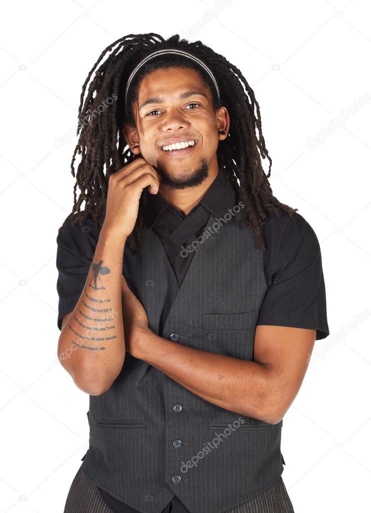 Capelli afro lunghi uomo