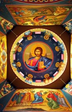 The ceiling of a Greek Orthodox Church South Africa