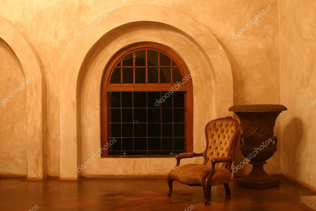 Magnificent Victorian Chair In An Empty Room Stock Photo C Forgiss Download Free Architecture Designs Griteanizatbritishbridgeorg