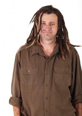 Adult caucasian man