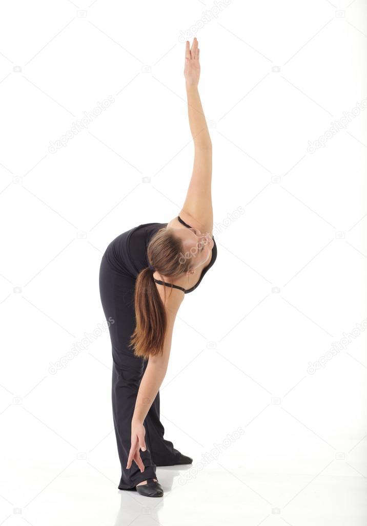 1af37735 Młoda tancerka nowoczesny jazz — Zdjęcie stockowe © Forgiss #22130499