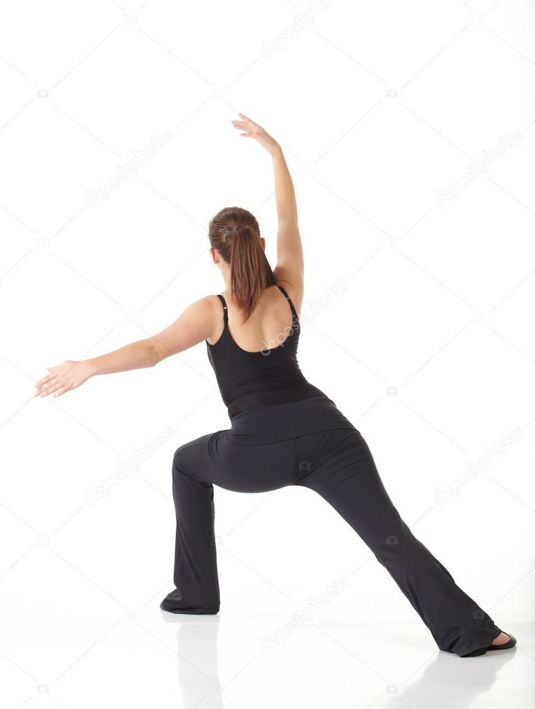 975425d4 Młoda tancerka nowoczesny jazz — Zdjęcie stockowe © Forgiss #22130783