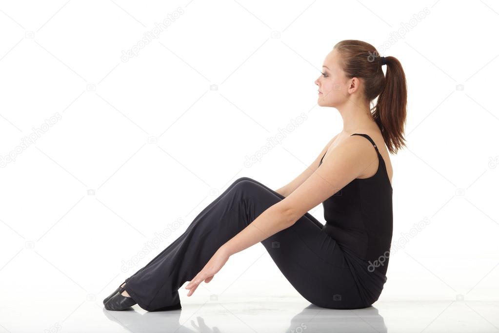 0440d89d Młoda tancerka nowoczesny jazz — Zdjęcie stockowe © Forgiss #22131029