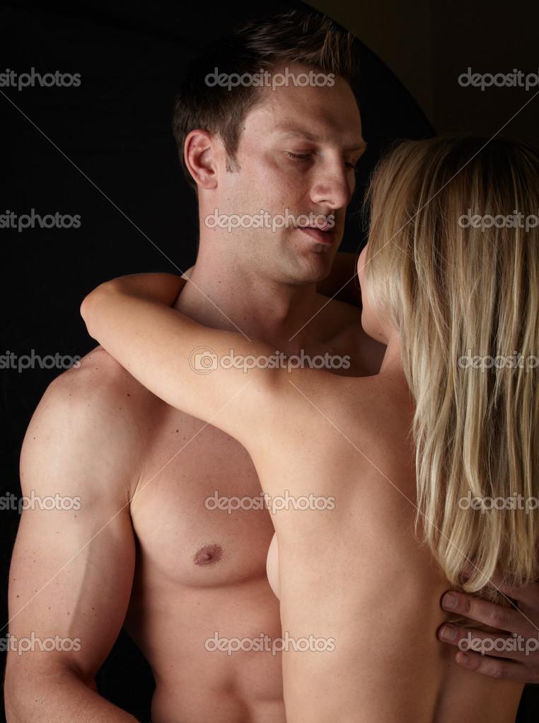 Semi nude couple photos