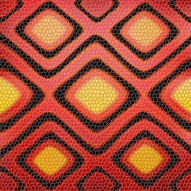 Red snakeskin background