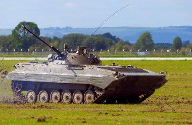 BMP 2 fighting vehicle