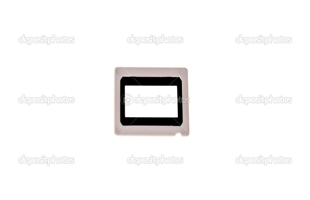 marco de la diapositiva de linterna en blanco — Fotos de Stock ...