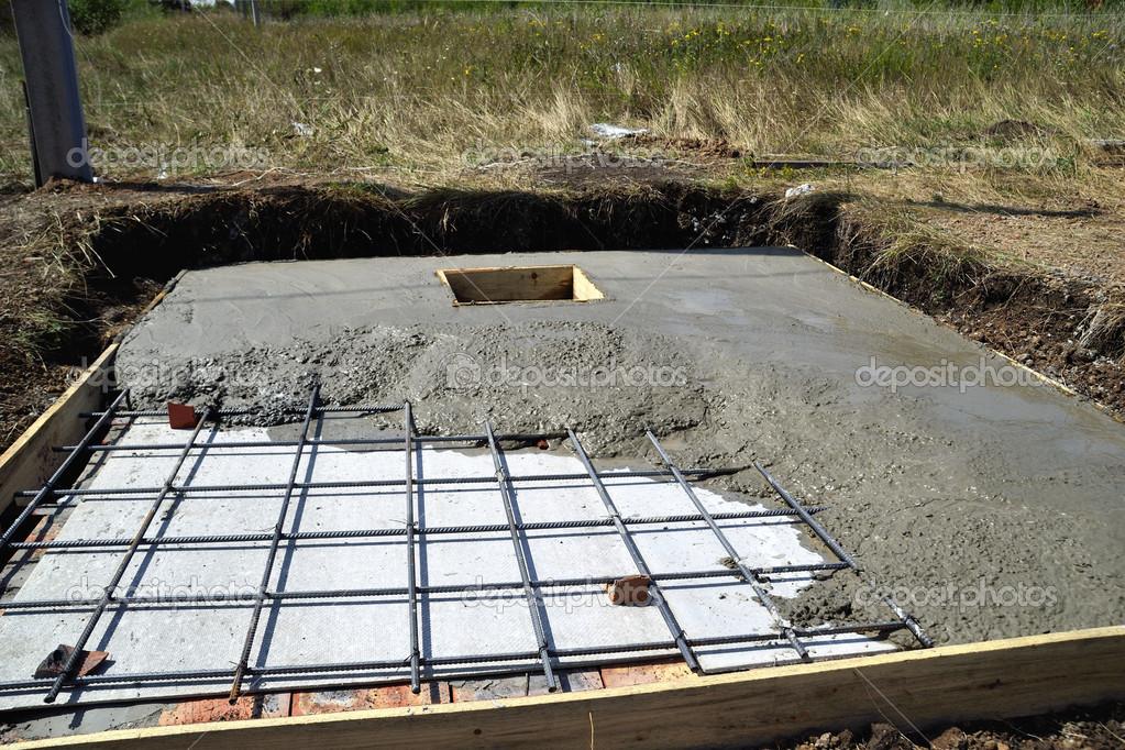 gjutning av betong