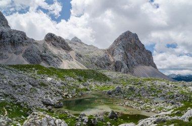 Lake on mountains