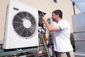 Fényképek HVAC technikus