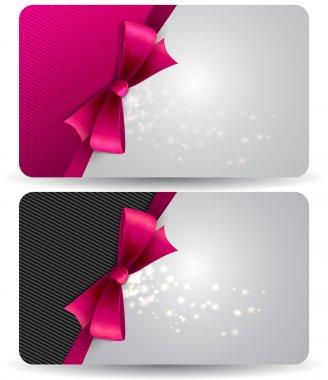 Gift card clip art vector