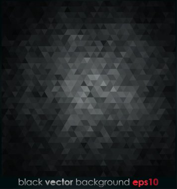 Abstract black background clip art vector