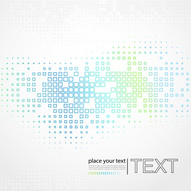 Abstract geometrical background stock vector
