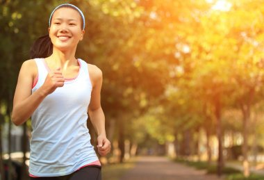 Woman jogging workout
