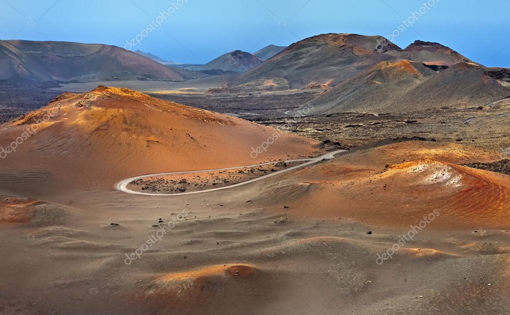 Mountains Of Fire Montanas Del Fuego Timanfaya National Park In Lanzarote Island Stock Photo Image By Fulcanelli 22475543