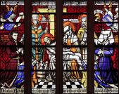mozaikové okno zbožnosti na Hospic v beaune, Francie