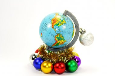 Festive model of the Earth