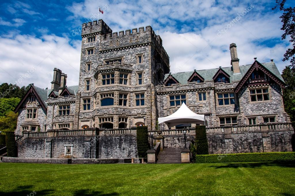 Hatley Castle (aka X-Men school) — Stock Photo