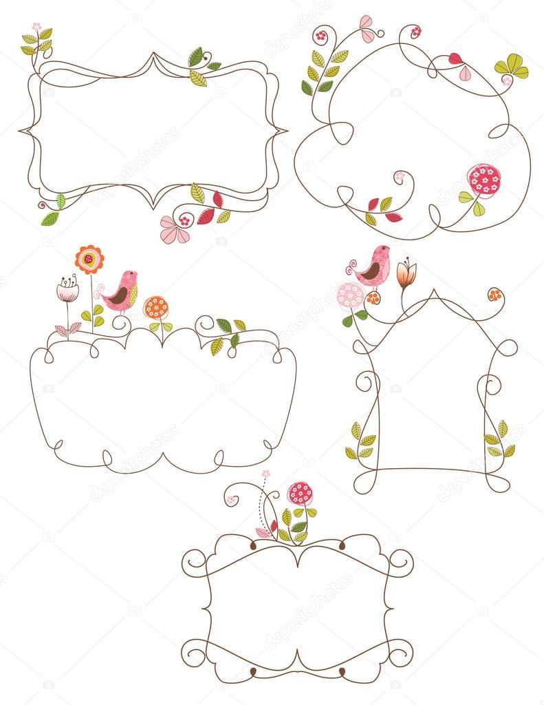 Spring frames