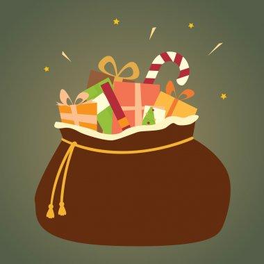 Santa's Bag of Christmas Gifts