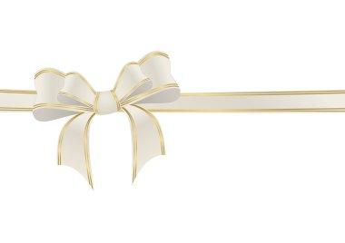 Beige ribbon