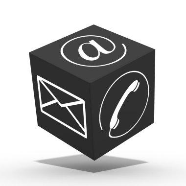 3d internet cube