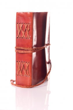 Old leather book