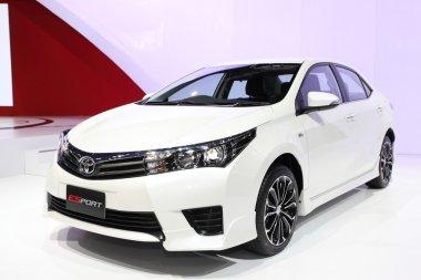 NONTHABURI - March 25: Toyota All New Corolla Altis Esport car o